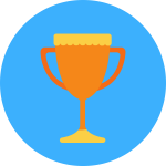 Trophy icon for JLPT courses