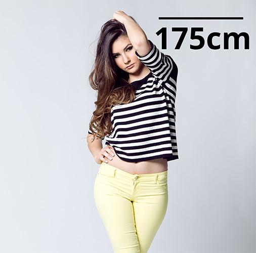 Tall model woman