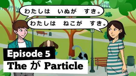 N5 Grammar video - ga particle
